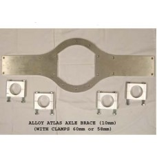 Alloy Atlas Axle Brace(58mm axle tubes)
