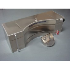 Alloy shaped fuel tank(threaded outlets)incl filler
