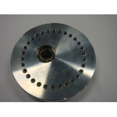 Alloy Eccentric Top Mount.Small hole top