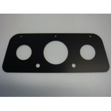 Alloy Instrument Panel(black powder coated