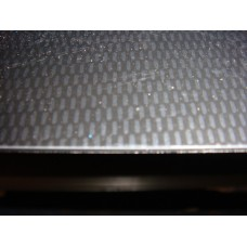 Carbon fibre look sheet.