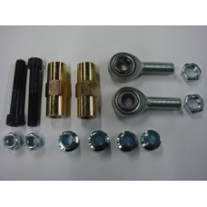 Rose jointed track rod end kit.